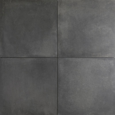 Red Sun Concrete look black 60X60X2Cm