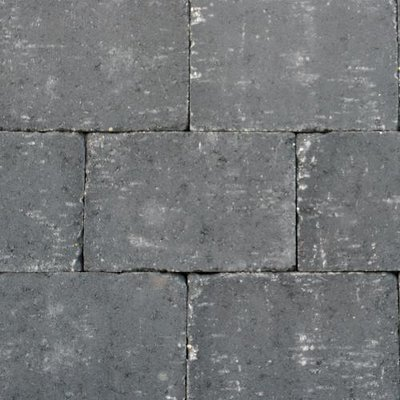 Abbeystones Nero 20x30x6cm